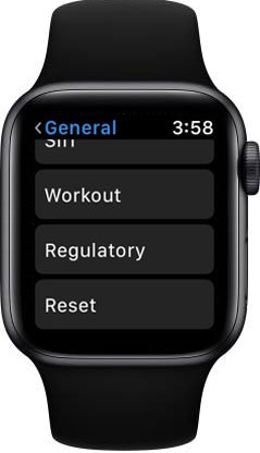 Reset Your Apple Watch