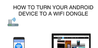 Android Device as WiFi Adapter for Internet