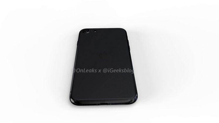 iPhone SE 2 render